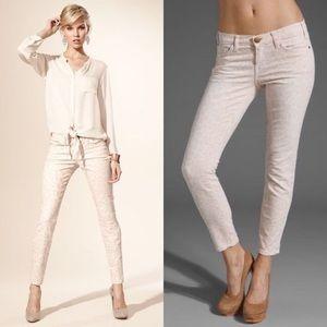Current /Elliott dusty peach stilletto Jeans sz 29